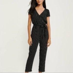 Abercrombie & Fitch striped jumpsuit romper XS